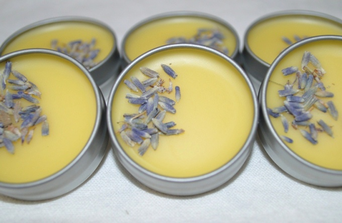 Peppermint Lavender Lip Balm | Flora Metaphor